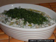 Yediklerim - Yaptıklarım: Yoğurtlu Mercimek Salatası