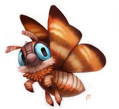 Day 536. Kaiju - Mothra by Cryptid-Creations.deviantart.com on @deviantART