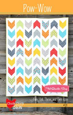 Pow Wow Quilt Pattern Cluck. Cluck. Sew Quilt Patterns - Fat Quarter Shop