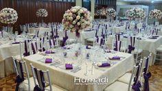Purple Decoration by Humadi #purple #weddings #bodas #morado