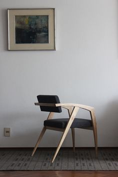 Remarkable Minimal chair designs is a part of our furniture design inspiration series. Minimal chair designs inspirational series is a weekly showcase Living Room Chairs, Living Room Furniture, Modern Furniture, Furniture Design, Cute Home Decor, Home Decor Styles, Cheap Home Decor, Design Industrial, Ikea Chair