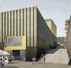 Render © Caruso St John Architects.