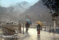 1910年代の嵐山 • 渡月橋