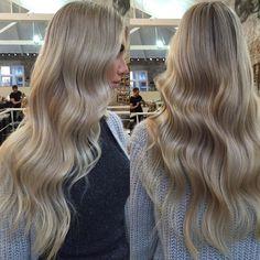 Waves, Long Hair Styles, Instagram Posts, Beauty, Beautiful, Color, Long Hairstyle, Colour, Long Haircuts