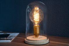 Vintage Tischlampe EDISON im Retro Stil Edison - Der Klassiker unter den Vintage Lampen im Edison-Design Die Retro - Ausstrahlung dieser Tischlampe verleiht Ihrem Wohnraum eine Atmosphäre des modernen