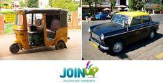 A ver quién adivina qué país tiene estas dos modalidades de taxi. No os daremos más pistas, que con las imágenes seguro que adivináis en muy poco tiempo.