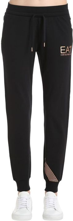 34b97afa3 Train Core Cotton Sweatpants Cotton Sweatpants, Luxury Shop, Emporio Armani,  Core