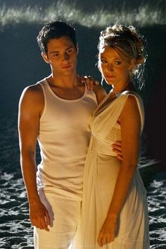 dan and serena, gossip girl