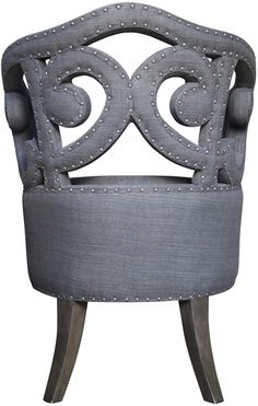 :: NOIR :: - master vanity chair option