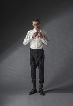 "white fighter shirt michal kozlowski | diploma collection ""debut"" | 2014"