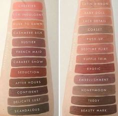New colors of NYX lingerie (on the left) 2017. Wowwww!!