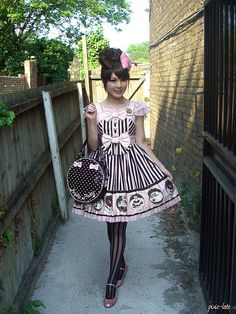 Angelic Pretty Melty Chocolate JSK by pixie-late, via Flickr