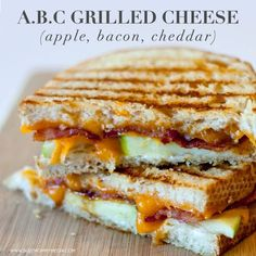 ABC Grilled Cheese (