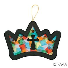 "Esther: Tissue Paper ""Mighty Kingdom"" Craft Kit (Alternate idea - use contact paper and self adhesive foam)"