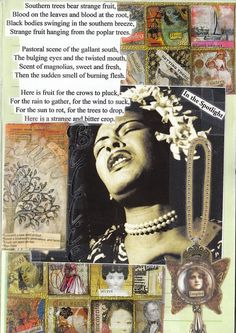 Strange Fruit, Billie Holiday from 1939. Sad, haunting, but beautiful teaching opportunity about intolerance in American History.