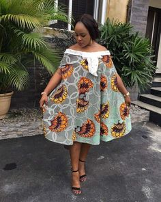 Ankara Xclusive: The Most Attractive and Popular African Print Dresses 2018 Ankara Xclusive: The Most Attractive and Popular African Print Dresses 2018 Modern African Print Dresses, Short African Dresses, Latest African Fashion Dresses, African Traditional Dresses, African Print Fashion, Africa Fashion, Ankara Fashion, African Prints, African Attire