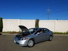 Car brand auctioned:Honda Civic GX 2007 Car model honda civic gx cng hov commuter