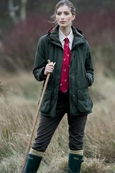 "theladyglencoe: "" Barbour Ladies Langley Jacket """