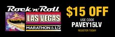 Join the #WeRunSocial crew in Las Vegas. Discount is on the half or the full. Expires 10/1 (I think).