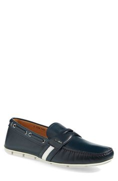 Prada Boat Style Driving Shoe (Men) available at #Nordstrom