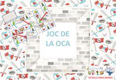 JOC DE L'OCA - ST. JORDI. DETALLS AMB ÀNIMA Puzzle, Games, Kid Games, Puzzles, Riddles, Gaming, Toys, Jigsaw Puzzles