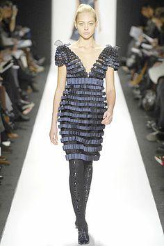 Carolina Herrera Fall 2007 Ready-to-Wear Fashion Show - Freja Beha Erichsen