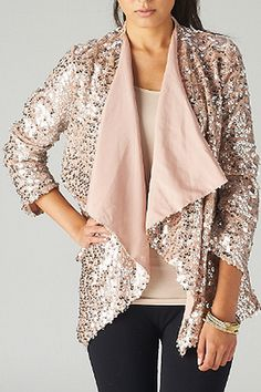 Silver Sequin Tunic.  Love this via Catch Bliss Boutique!