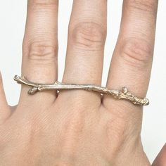 Fab.com | Three Finger Twig Ring