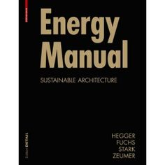 Energy Manual Paperback - DETAIL Books
