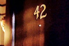 42: Fox Mulder's apartment number :: See more at http://ap42.com/why42