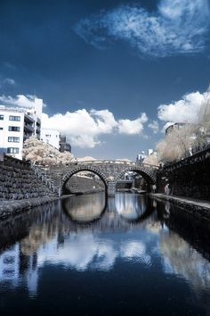 Meganebashi bridge, Nagasaki, Japan, had just been smashed by a flood in Beautiful Places In The World, Beautiful Places To Visit, Wonderful Places, Places To Travel, Places To See, Kyushu, Nagasaki, Fukuoka, Japan Travel