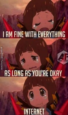 oh internet, can't live without you #anime #memes #funny #manga
