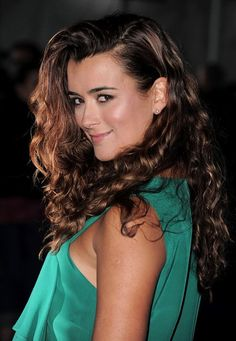 Cote de Pablo of NCIS is she beautiful or what?... just loved her character on NCIS  -- Miss her and wish she would come back... the show is still one of my favorites but every time it comes I wonder where she is and why did she leave and if they could rewrite her back into the show... loosing a family member is just hard to take...