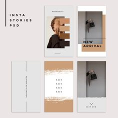 This purchase includes 5 I Instagram Story Template, Instagram Story Ideas, Instagram Templates, Mise En Page Portfolio, Portfolio Design, Bg Design, Layout Design, Branding And Packaging, Branding Design