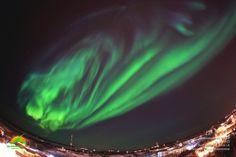 Aurora Borealis - Yellowknife, Northwest Territories, Canada