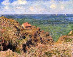 The Gorge at Varengeville Claude Oscar Monet - 1882