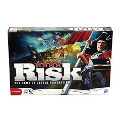 Conquer your opponents with superior strategy when you play the game of Risk! Only the strong will survive in this exciting unpredictable game of global domination. Use your troops to invade new terr...