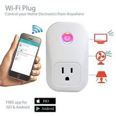 Wireless Wifi Plug Outlet for Timing Socket Store Coupons, Online Coupons, Home Electronics, Wifi, Coding, App, Free Shipping, House Appliances, Apps