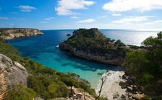 Majorca is renowned for its beach resorts.