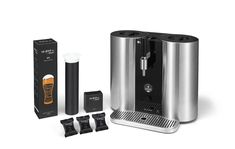 """Press A Button & Brew Your Own Beer With This New """"Craft Beer Keurig"""" - EmilyRatajkow - Pins pinperest. Latte Art, Beer Machine, Machine Nespresso, Brew Your Own Beer, Craft Bier, Cappuccino Machine, Italian Coffee, Expresso, Capsule"""