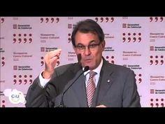 Roda de premsa posterior a la reunió amb Mariano Rajoy