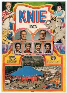 ZIRKUS / CIRQUE / CIRCUS KNIE 1978 PROGRAMMHEFTE in Wetzikon ZH kaufen bei ricardo.ch