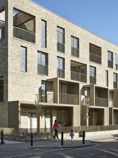 Image 9 of 40 from gallery of Ely Court / Alison Brooks Architects. Photograph by Alison Brooks Architects Dezeen Architecture, Brick Architecture, Building Exterior, Brick Building, Alison Brooks, Ely, Brick Projects, Architects London, Residential Complex