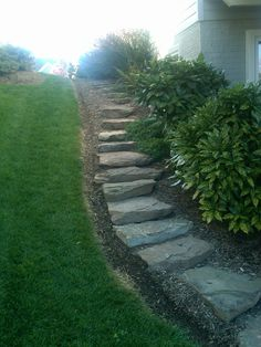Natural stone steppers  #outdoors #beautiful #nature #hardscaping
