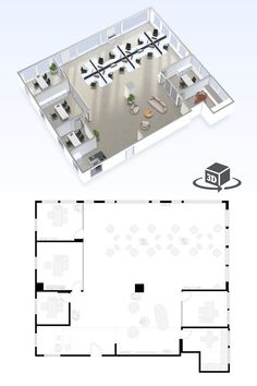Office Layout Plan, Office Floor Plan, Floor Plan Layout, Commercial Office  Design, Modern Office Design, Office Designs, Office Fit Out, Open Office,  ...