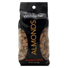 Wonderful Snack Almonds Roasted