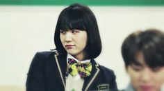 Min Yoonji aka Suga aka Min Yoongi aka Agust D~ bOW DOWN! Min Yoongi as a girl is basically just Min Yoongi as a boy.. The prettiest and most savage girl out! It was nice to see alot of Yoongi on the first episode, considering he couldn't be around for awhile when he hurt his ear! ❤ Run BTS! 2017 - EP.11 #BTS #방탄소년단