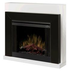 Dimplex White Ebony Electric Fireplace - BFSL-BMBLK