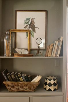 Books, small artwork, vintage tchotchkes. design indulgence: PHOTO SHOOT