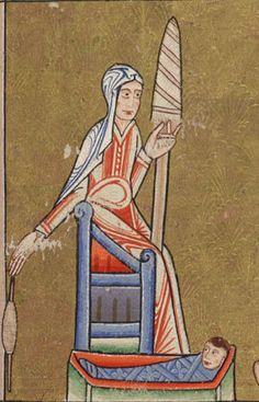 File:Hunterian Psalter c. 1170 Eve spinning.jpg